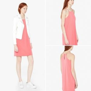 Mango Basic Asos Coral Slip Dress 2